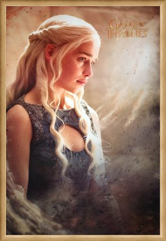Framed Framed Mother Of Dragons - Game Of Thrones