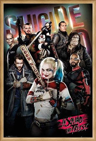 Framed Framed In Squad We Trust - Suicide Squad