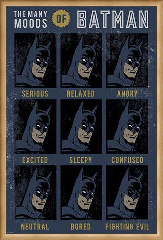 Framed Framed The Many Moods Of Batman - DC Originals