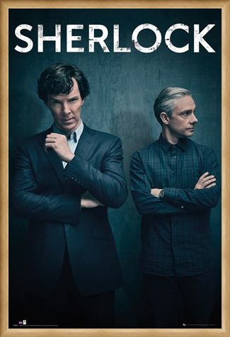 Framed Framed Iconic - Sherlock