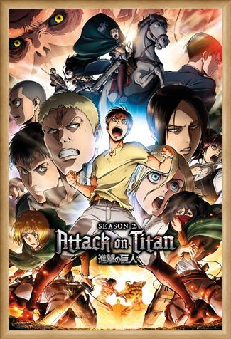 Framed Framed Season 2 - Attack On Titan