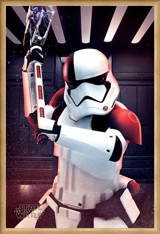 Framed Framed Executioner Trooper - Star Wars The Last Jedi