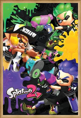 Framed Framed 2 3 Way Battle - Splatoon