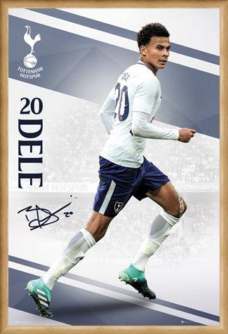 Framed Framed Tottenham 17-18 - Dele Alli