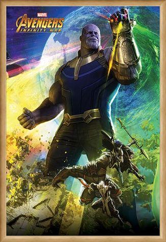 Framed Framed Thanos - Avengers Infinity War