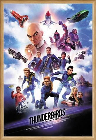 Framed Framed International Rescue! - Thunderbirds Are Go