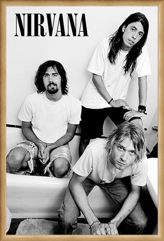 Framed Framed Kurt And Co - Nirvana