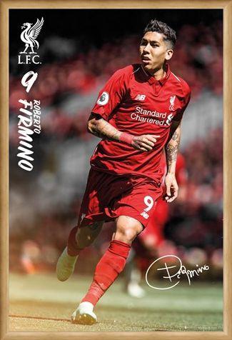Framed Framed Firmino 18/19 - Liverpool FC