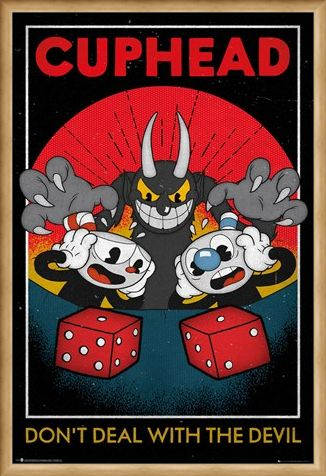 Framed Framed Don't Deal With The Devil - Cuphead Craps