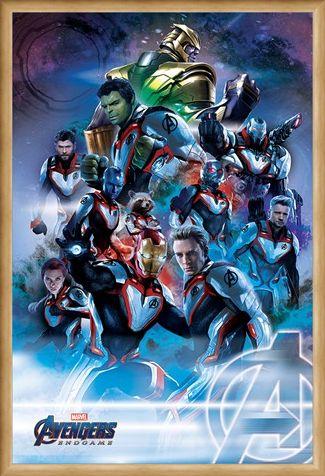 Framed Framed Quantum Realm Suits - Avengers: Endgame