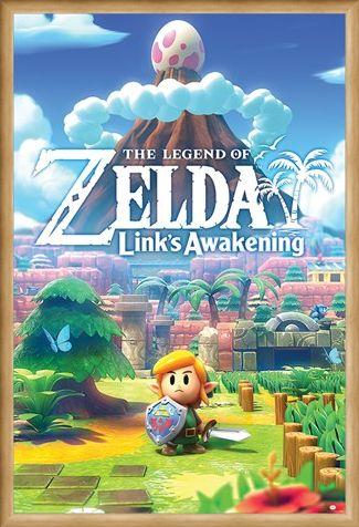 Framed Framed Links Awakening - The Legend Of Zelda
