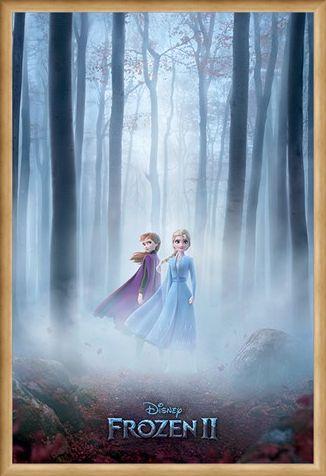 Framed Framed The Enchanted Woods - Frozen 2