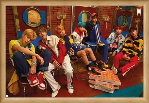 Framed Framed Crew - BTS