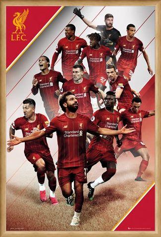 Framed Framed Players 19-20 - Liverpool