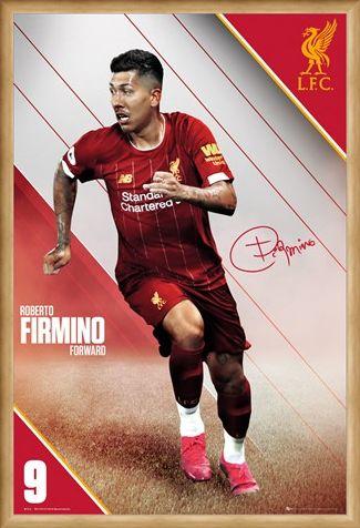 Framed Framed Firmino 19-20 - Liverpool