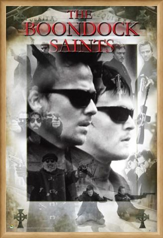 Framed Framed Thy Kingdom Come, Thy Will Be Done - Boondock Saints Collage