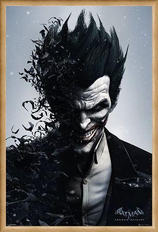 Framed Framed Joker - Batman Arkham Origins