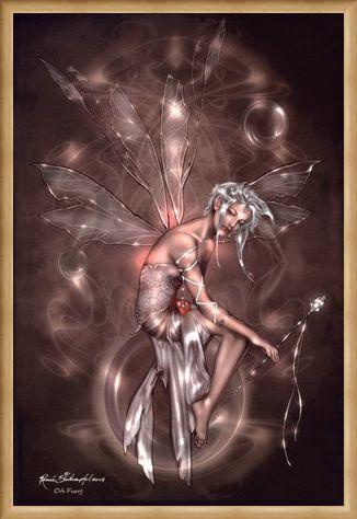 Framed Framed Orb Fairy - Renee Biertempfel