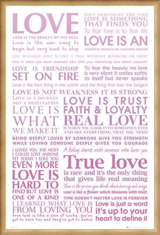 Framed Framed Love Is..... - True Love