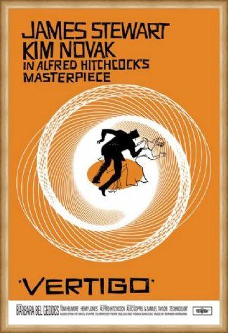 Framed Framed Alfred Hitchcock Masterpiece - Vertigo