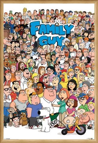 Framed Framed Character Compilation - Family Guy