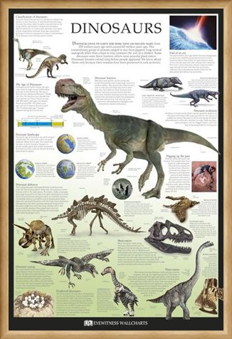 Framed Framed Dinosaurs - Dorling Kindersley
