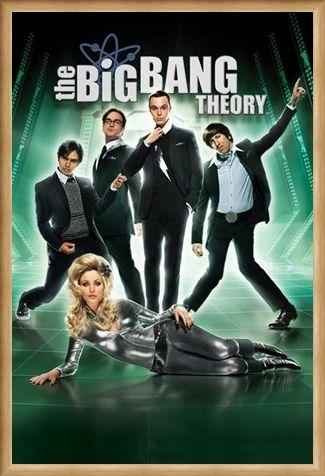Framed Framed Barbarella - The Big Bang Theory