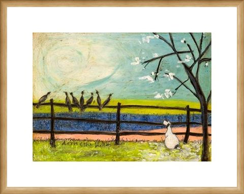 Framed Framed Doris & The Birdies - Sam Toft
