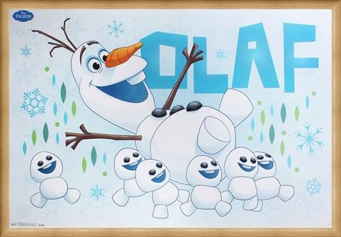 Framed Framed Olaf - Frozen Fever
