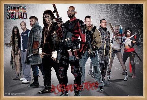 Framed Framed Group Shot - Suicide Squad