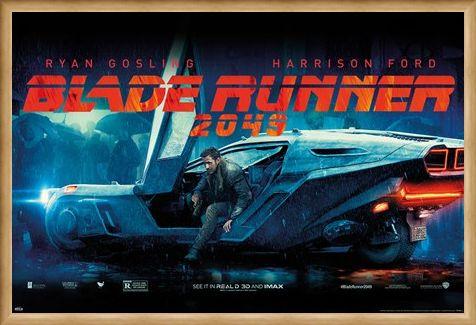 Framed Framed Flying Car - Blade Runner 2049