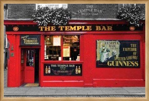 Framed Framed The Temple Bar - Dublin