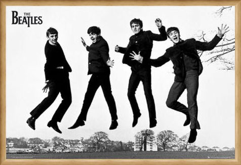 Framed Framed Another Famous Jump - The Beatles