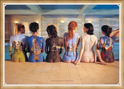 Framed Framed Back Catalogue Campaign Poster - Pink Floyd