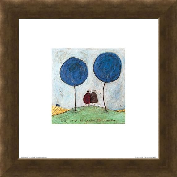 Framed Framed The Day I Met You - Sam Toft