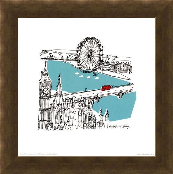 Framed Framed London I - Susie Brooks