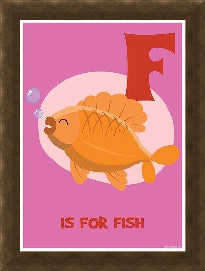 Framed Framed F...is for Fish - Funky Animals