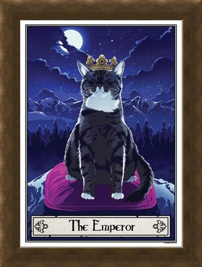 Framed Framed The Emperor - Deadly Tarot Felis
