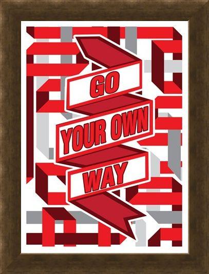 Framed Framed Go Your Own Way - Live the Lyrics