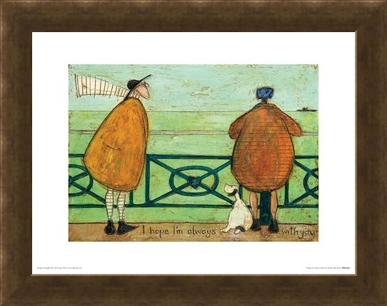 Framed Framed I Hope I'm Always with You - Sam Toft