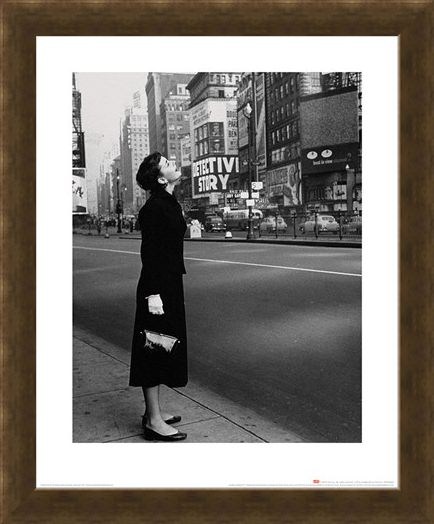 Framed Framed Audrey Hepburn - Broadway - Time Life