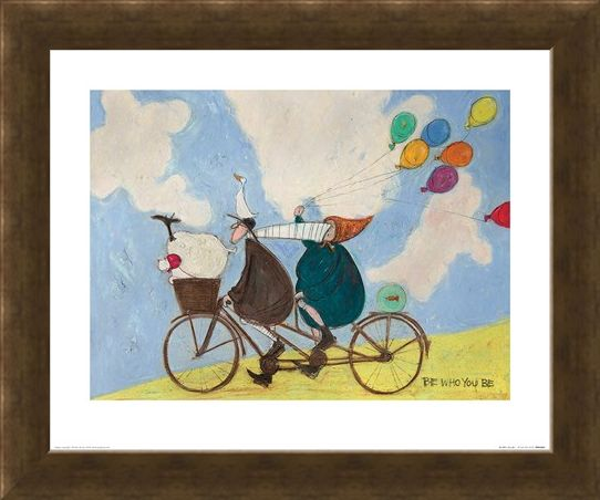 Framed Framed Be Who You Be - Sam Toft