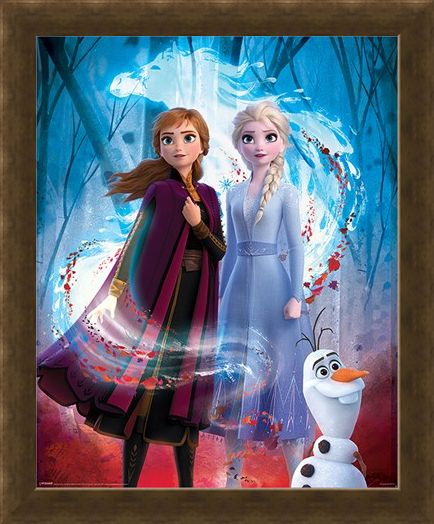 Framed Framed Guiding Spirit - Frozen 2