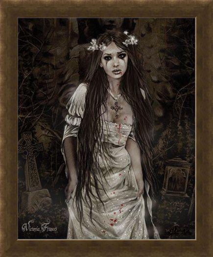 Framed Framed Anatheme The Vampire - Victoria Frances
