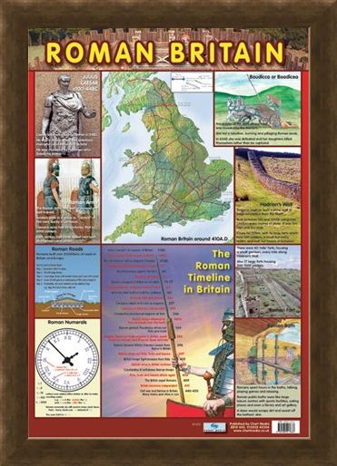 Framed Framed The Roman Timeline in Britain - Roman History