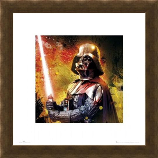 Framed Framed Darth Vader - Star Wars