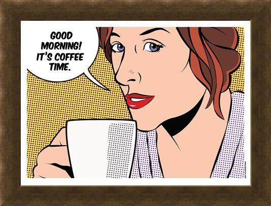 Framed Framed Wake Up! - Smell The Coffee