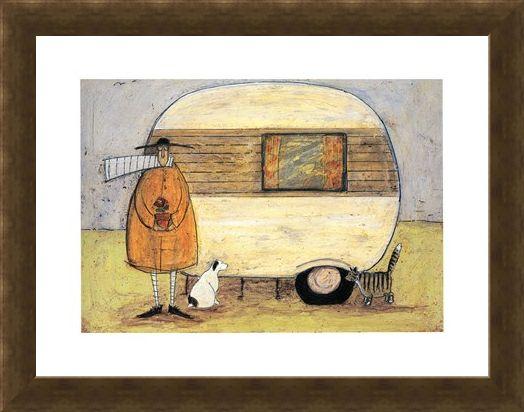 Framed Framed Home from Home - Sam Toft