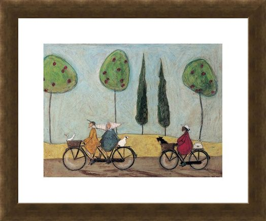 Framed Framed A Nice Day for It - Sam Toft
