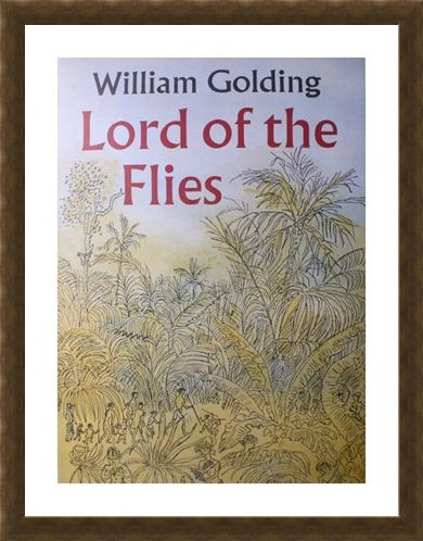 Framed Framed Lord of the Flies - William Golding